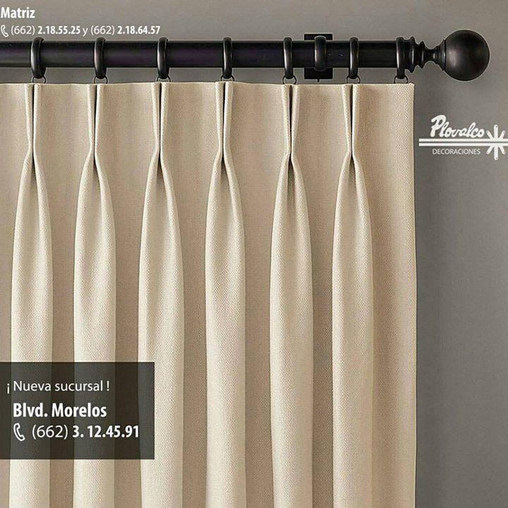 una buena cortina se nota en en los detalles de los acabados