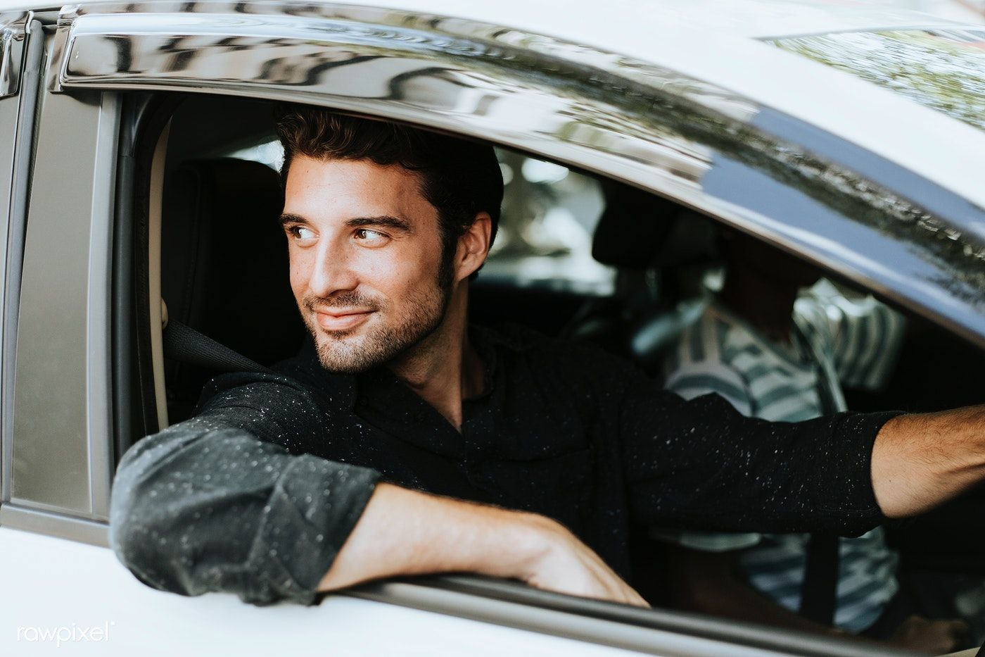 Download Premium Image Of Handsome Male Driver Sitting In A Car 560912 In 2020 Driving Photography Small Luxury Cars Poses For Men