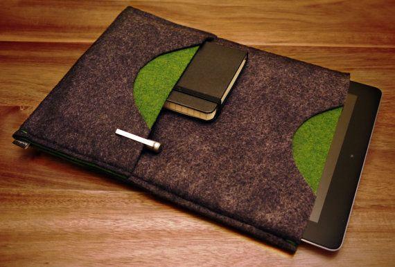 iPad Sleeve  Grassy Meadow by kodiakdesignstudio on Etsy, $32.50