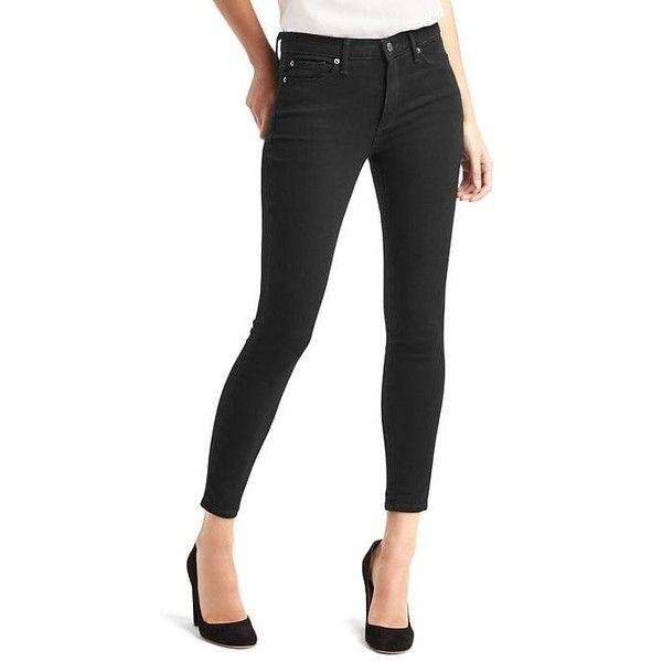 Petite slim black jeans