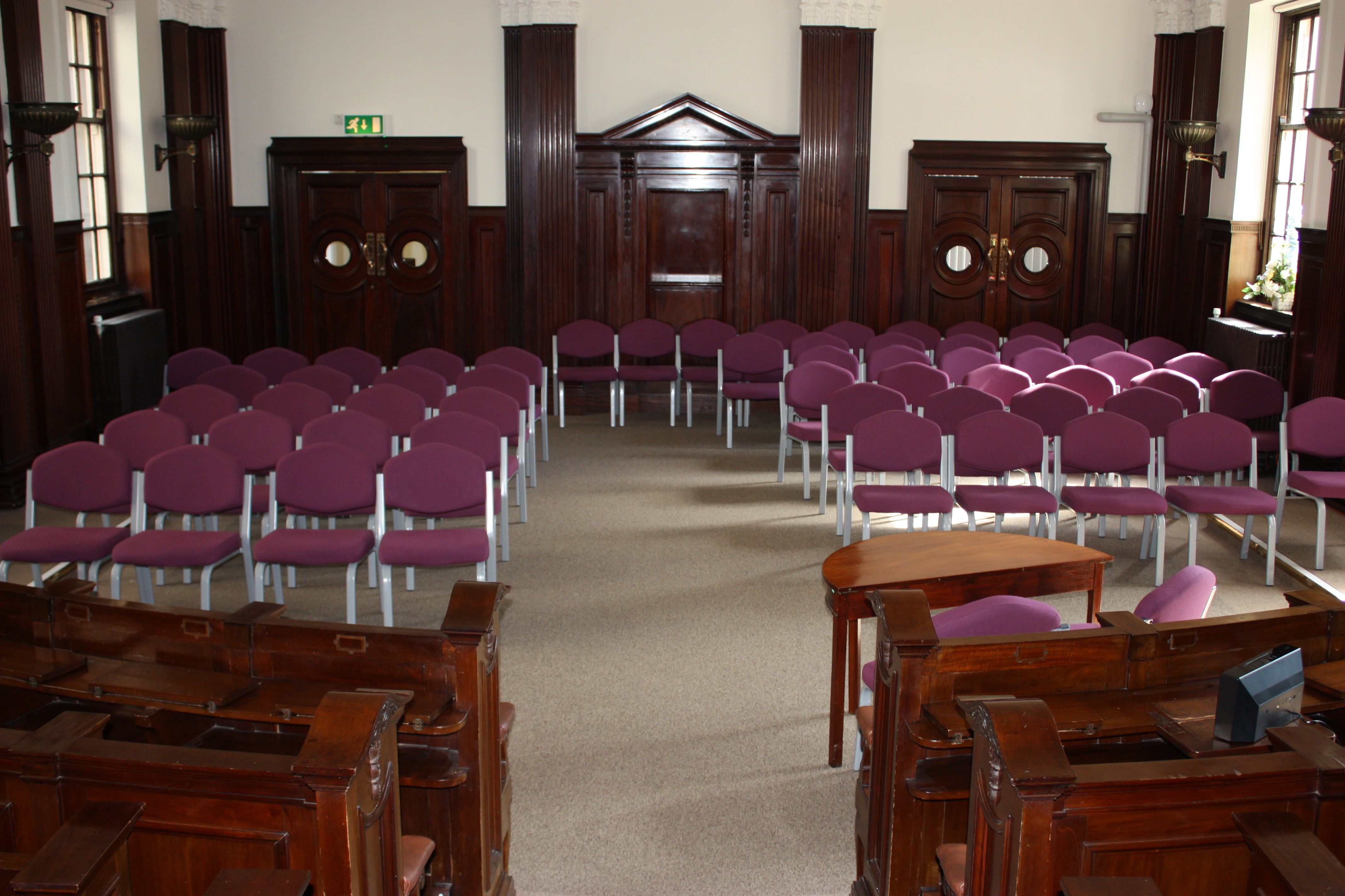Old Council Chamber Set Up For A Wedding Room Council Chamber Home