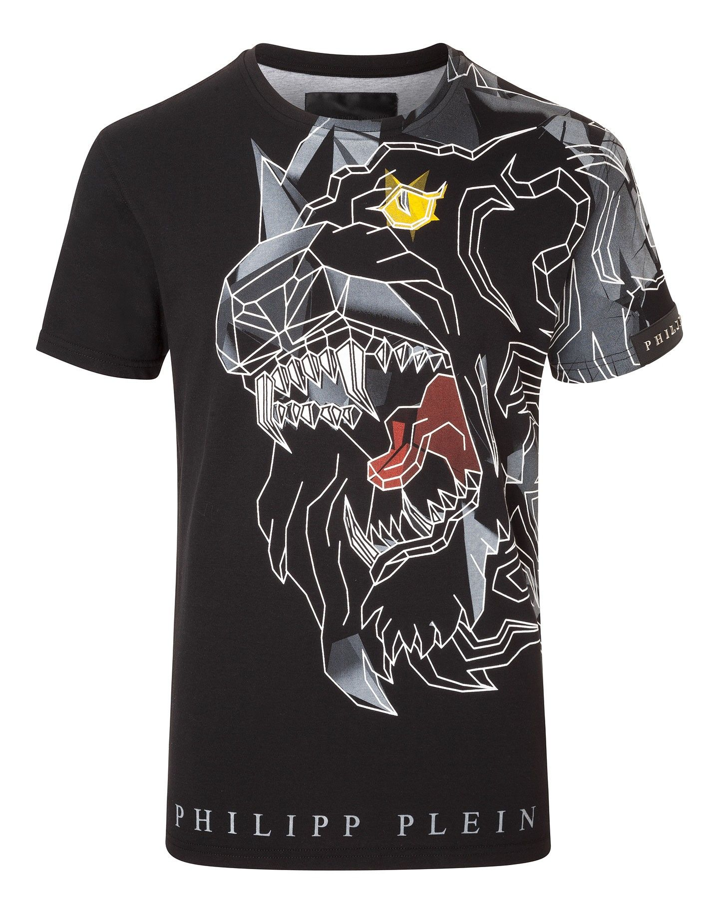 "PHILIPP PLEIN T-SHIRT ""LION FORCE"". #philippplein #cloth #"