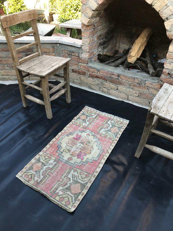 Rug Vintage Small Carpet