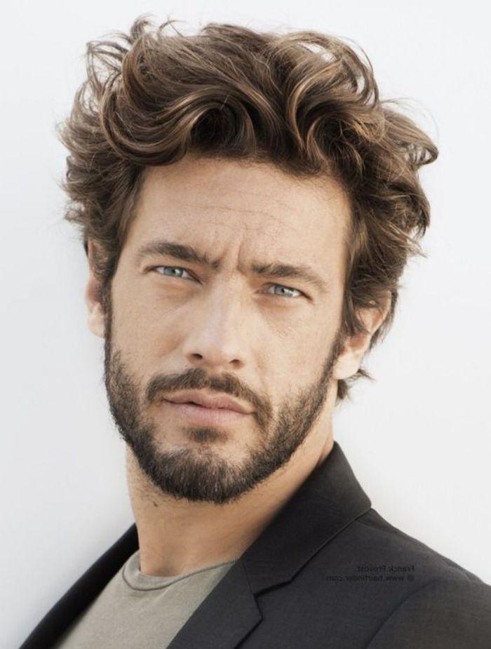 79 Beeindruckende Herrenfrisuren Fur Lockiges Haar Con Immagini Capelli Corti Uomo Capelli Uomo Cera Per Capelli