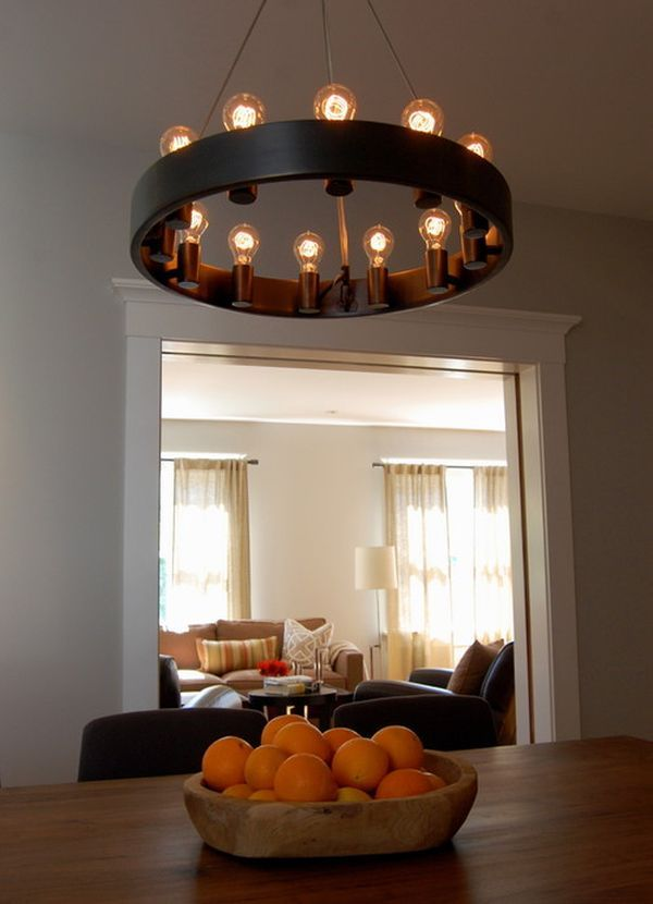 Dining Room Modern Chandelier | Eclectic Modern Dining Room Chandelier