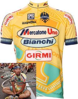Classic Giro d Italia jerseys. Marco Pantani (remember the rule for bike kit   you can wear a pro team s kit if the team is defunct) Well c3181c251