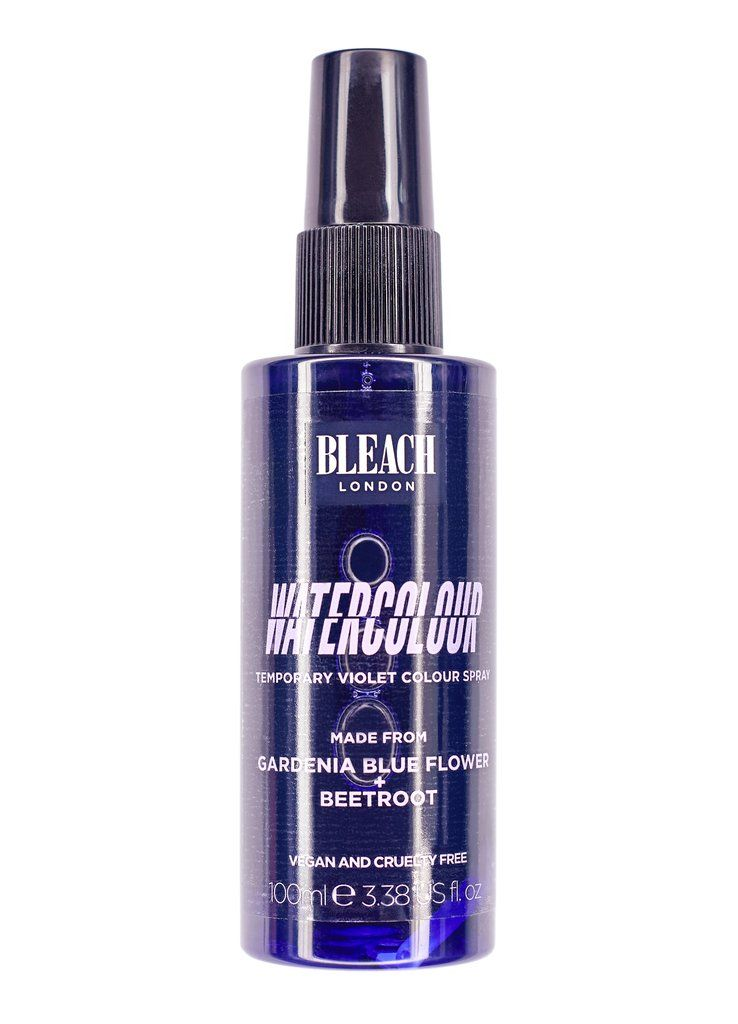 Blue Gardenia Watercolour Hair Color Spray Color Spray