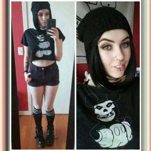 Tattoo Fixers Psychobilly Girl Punk: # Me # Misfits # The Misfits # Punx # Punk # Punks # Punk