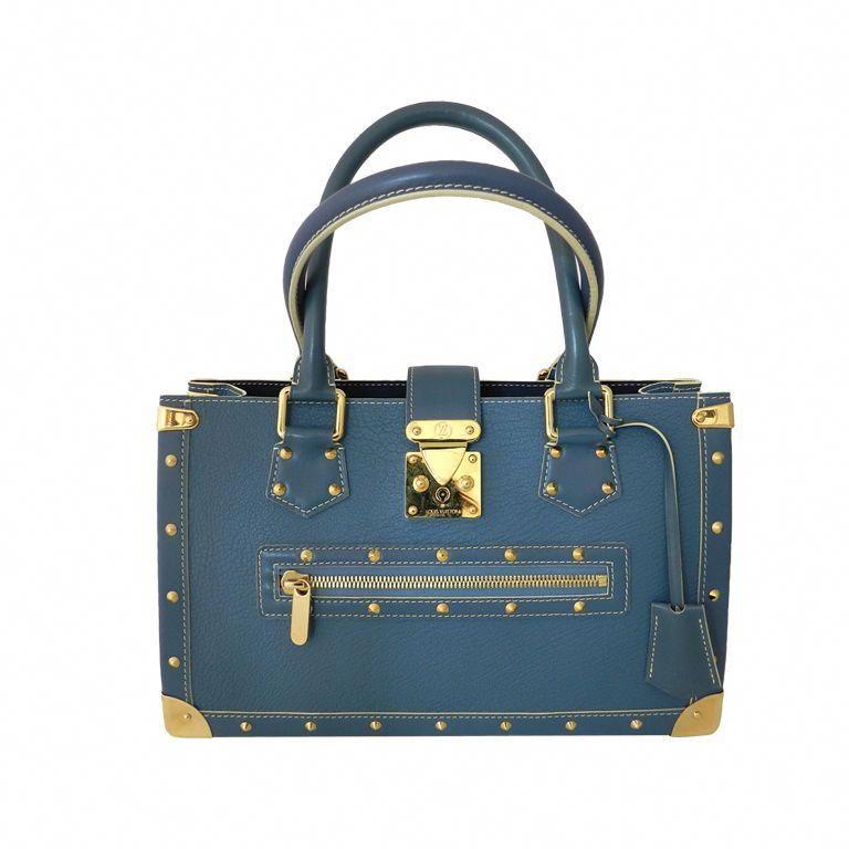 f3ac4002906 Louis Vuitton Suhali Le Fabuleux Blue Purse  Pradahandbags   Prada ...