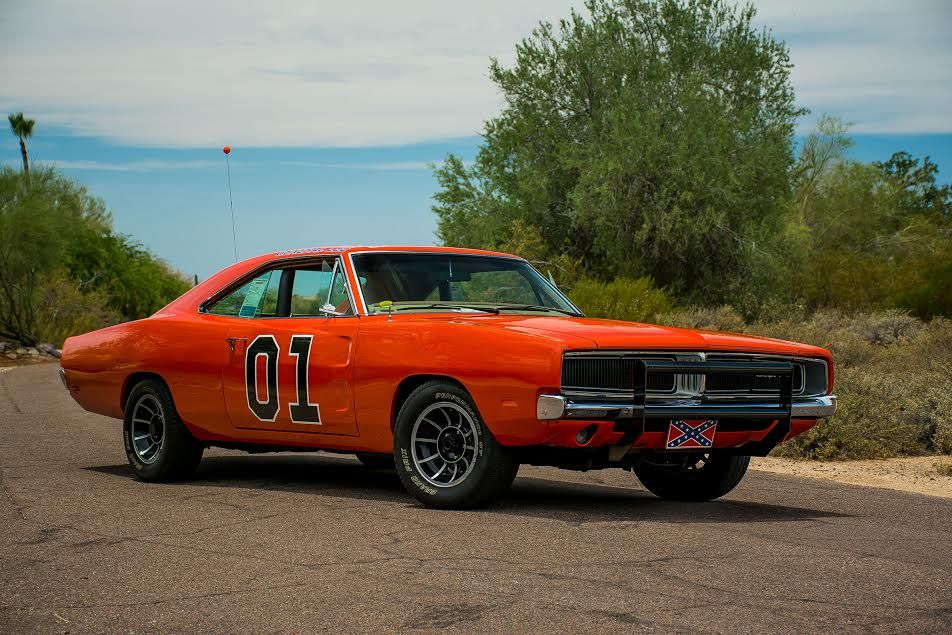 1969 Dodge Charger General Lee From The Dukes Of Hazard TV