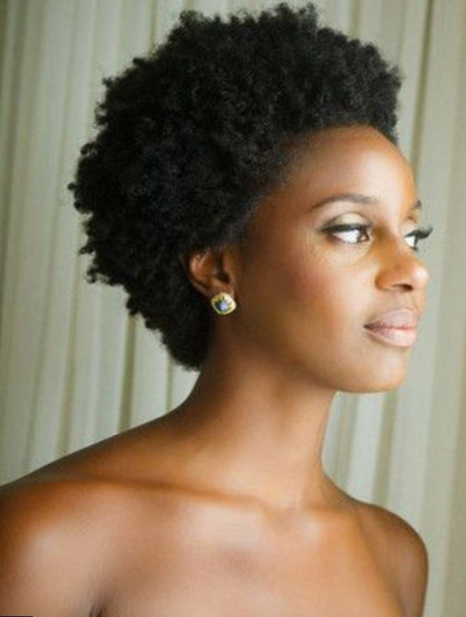 29++ Coiffure afro court inspiration