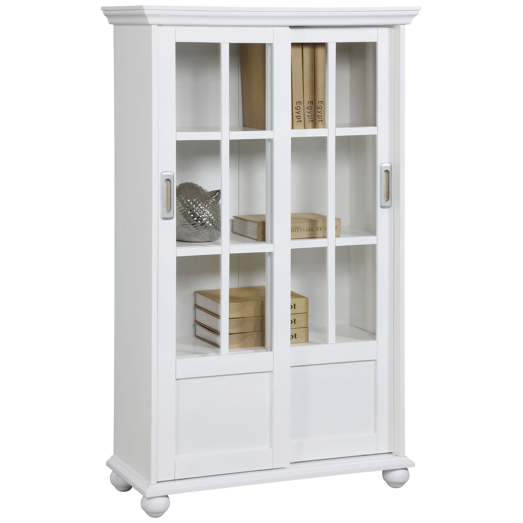 doors glass and by shelves martin closed with bookcase target home