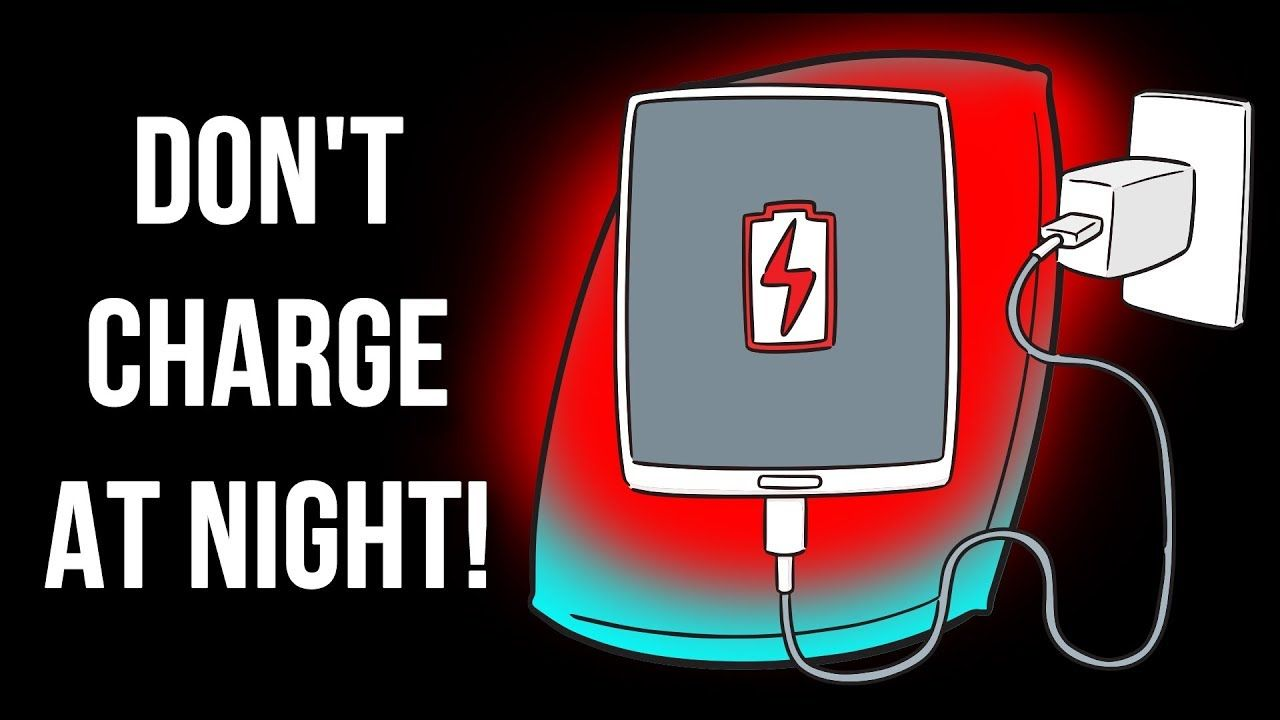 Stop Charging Your Phone at Night, Here's Why YouTube