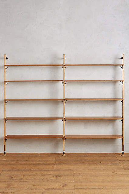Kalmar Ten Tier Wall Mounted Shelf Wall Mounted Bookshelves Wall Mounted Shelves Wall Bookshelves