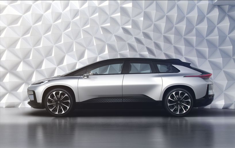 Ces 2017 Faraday Future Unveils The All Electric Ff 91supercar