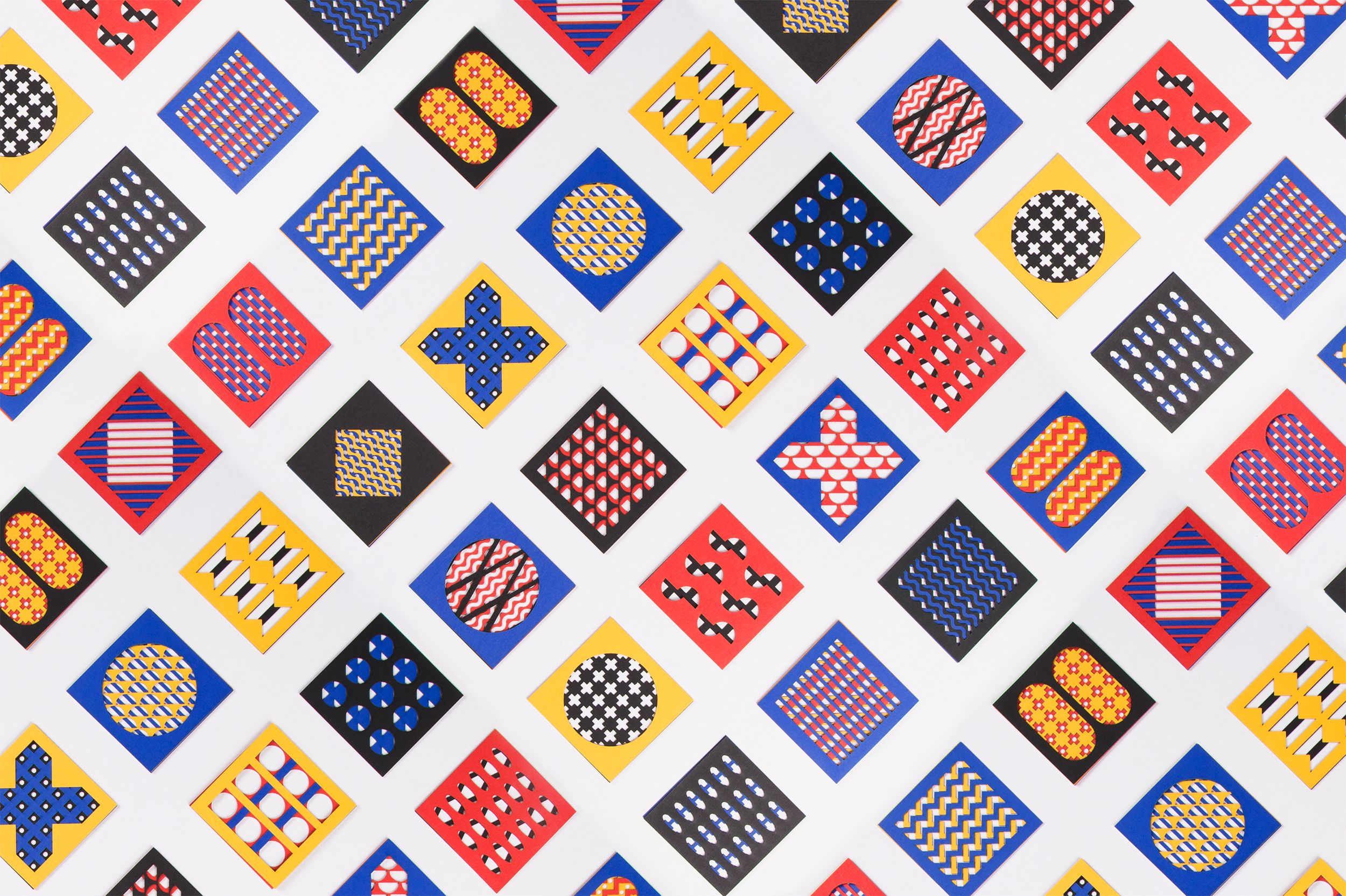 Pattern Maker On Behance Pattern Graphic Design Branding