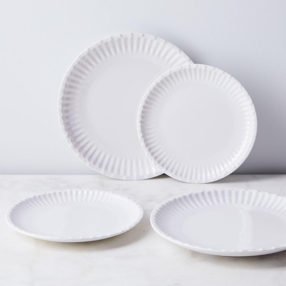 Melamine Paper Plates Set Of 12 Shatterproof Outdoor