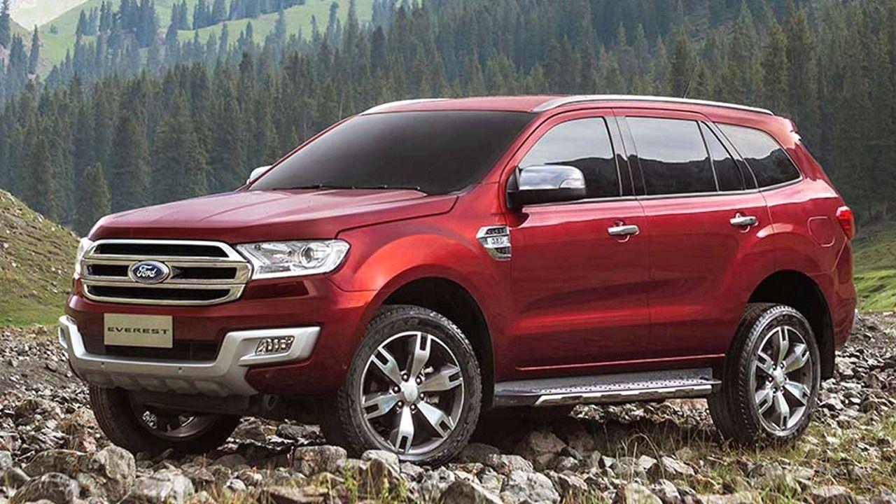 Best 2018 Ford Everest Usa Titanium New Release Dengan Gambar