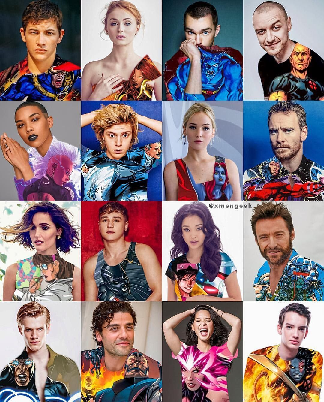 Pin By Michelle Gutierrez On Art Xmen Apocalypse X Man Cast X Men Apocalypse