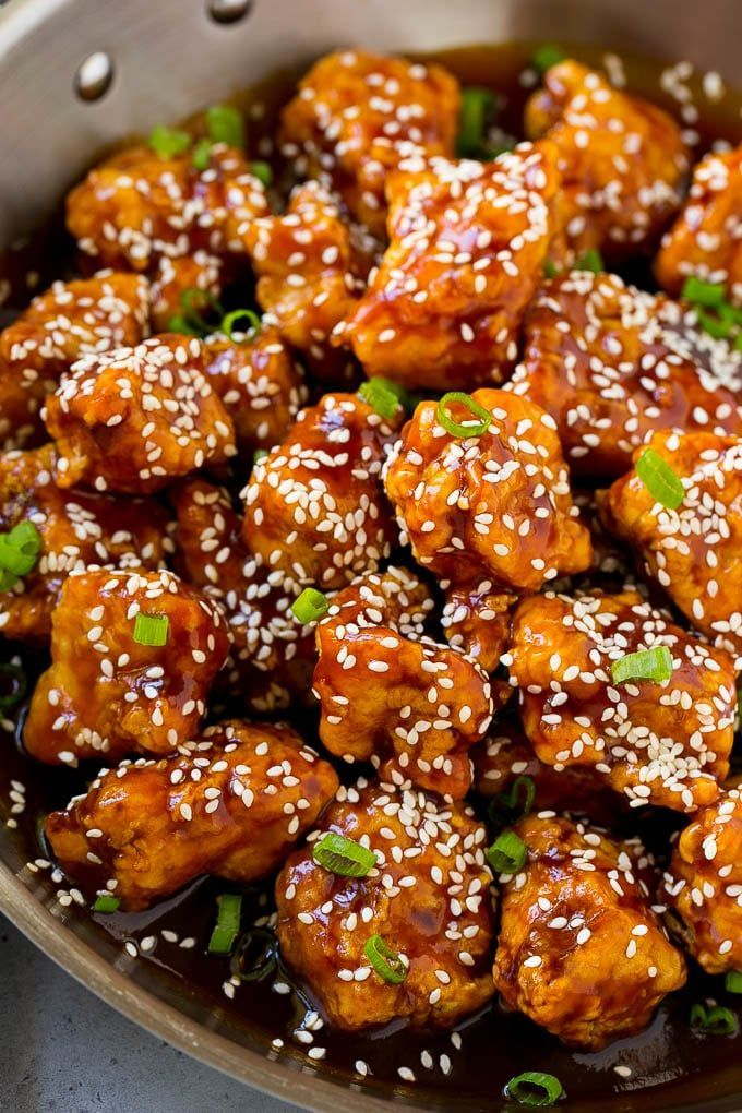Sesame Chicken - Dinner at the Zoo