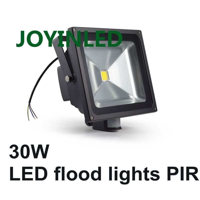 Hot Sale 10w 30w 50w Led Flood Light Pir Motion Sensor Ac85 265v Led Lamp Waterproof Outdoor Lighting Led Flood Led Outdoor Lighting Led Flood Lights Led Flood
