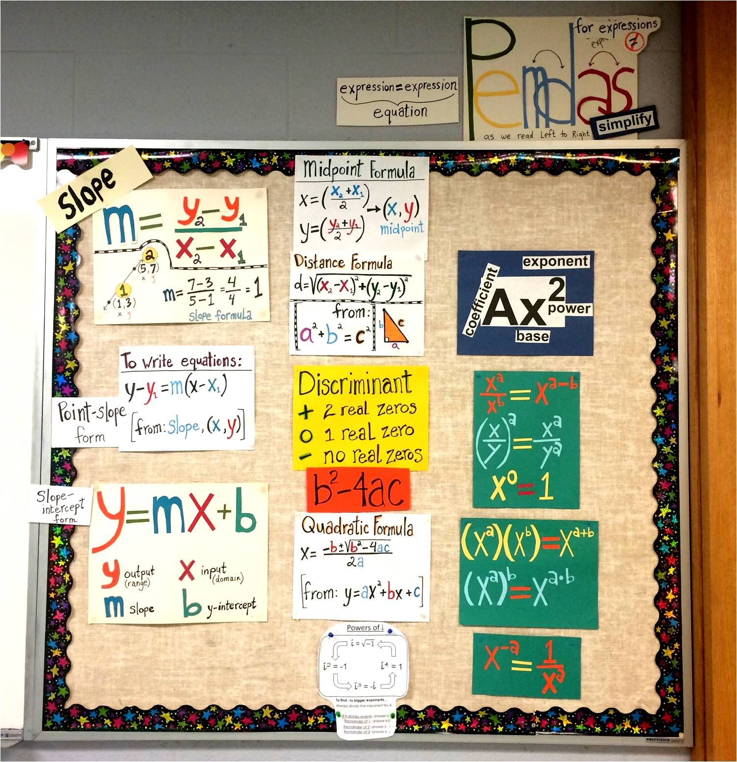 High School Math Word Wall Ideas | WordWall | Pinterest | Math words ...