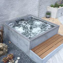 Concrete Whirlpool Design Example Outdoor whirlpools
