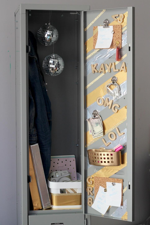 22 diy locker decorating ideas lockers locker ideas and school 22 diy locker decorating ideas arubaitofo Choice Image