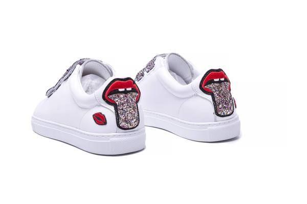 Back Sneakers Glitter Tongue Sneakers Edith Back Edith zSHwx6qd6