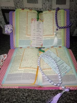 Alquran Halimah Rainbow A5 Free Tasbih Cantik Rainbow Free