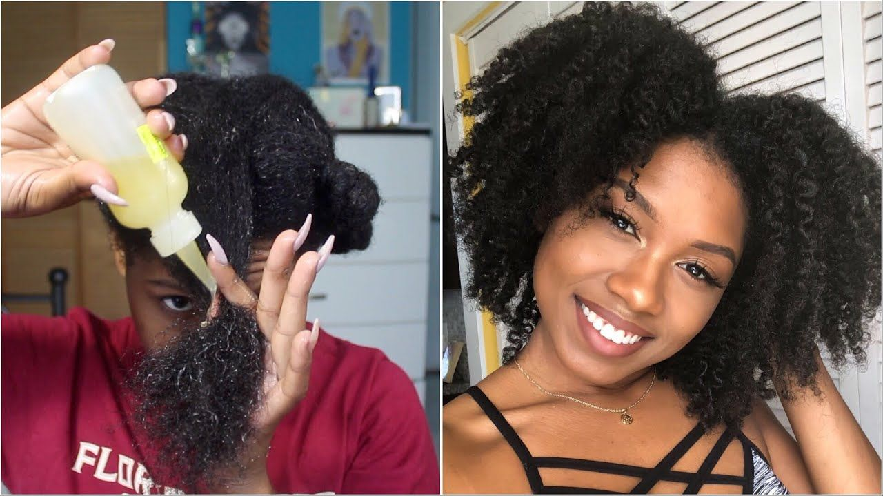Best Pre Poo Routine For Natural Hair 4a 4b High Porosity With