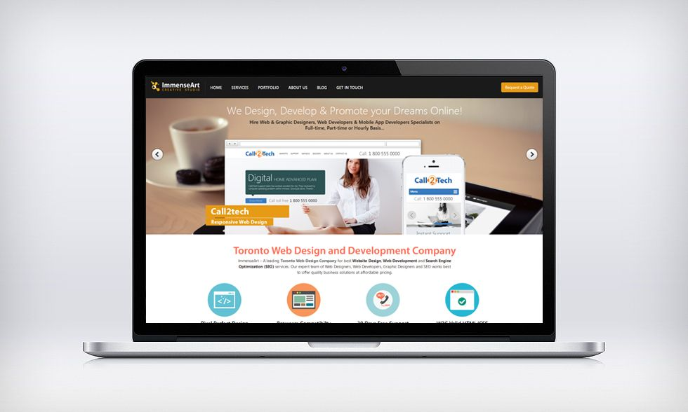 Professional Web Design Toronto Company Offers Affordable And Best Website Design Graphi Professional Website Design Fun Website Design Website Design Company