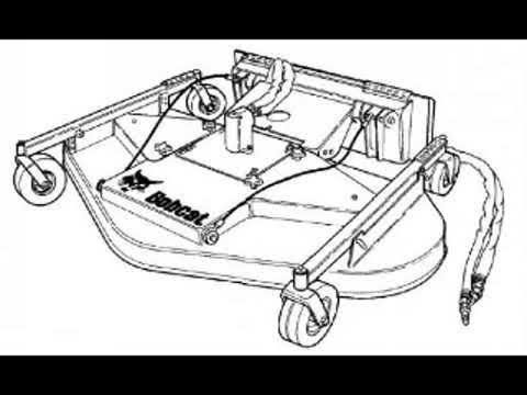 Bobcat MI Finish Mower 90 Workshop Service Repair Owner's