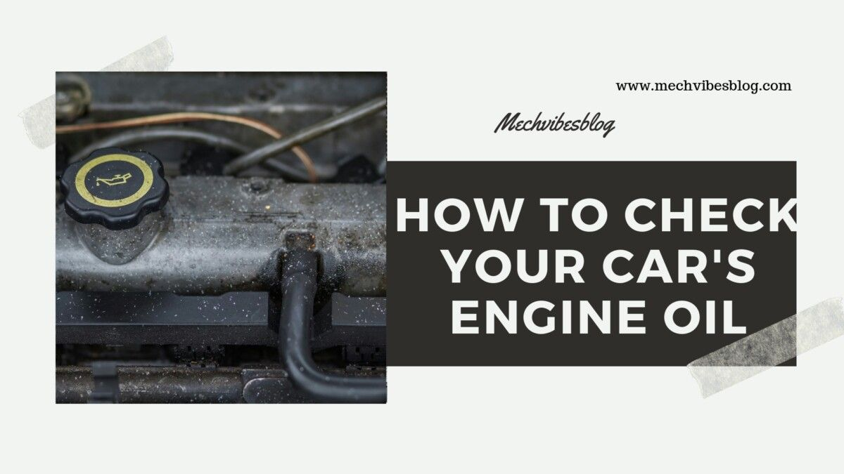 Know how to check your cars engine oil and how to top it