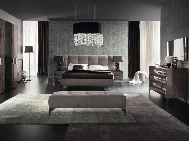 Best Rossetto Memory Ecru Nabuk King Size Platform Bed 1 Ez 400 x 300