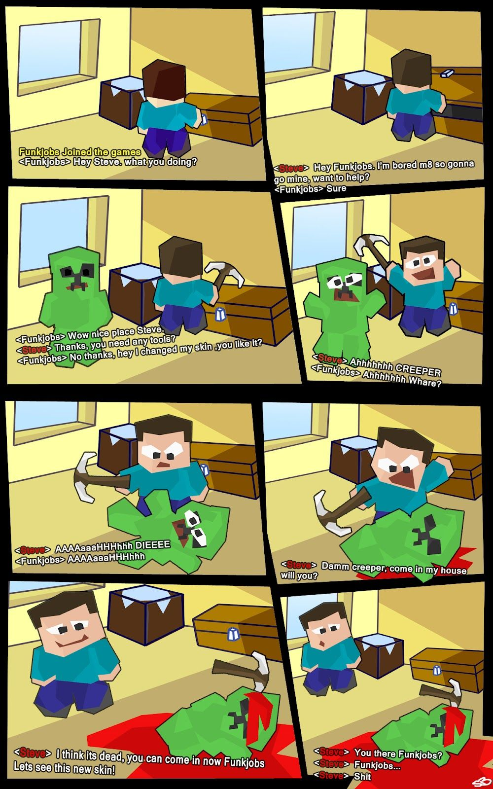 Pin By Kailyn Payson On Minecraft Minecraft Comics Minecraft