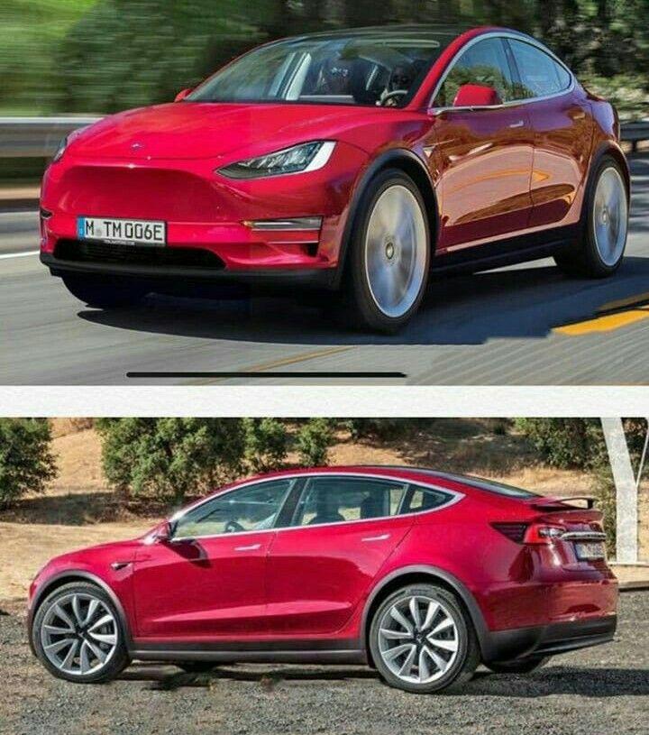 Tesla Model Y or Model X Facelift Tesla car, Tesla