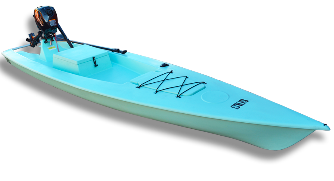 Solo Skiff Fishing Boat Calling It A Boat Might Be Selling It Short The Solo Skiff Fishing Boat Is Billed As A Fishin Motorized Kayak Fishing Boats Kayaking