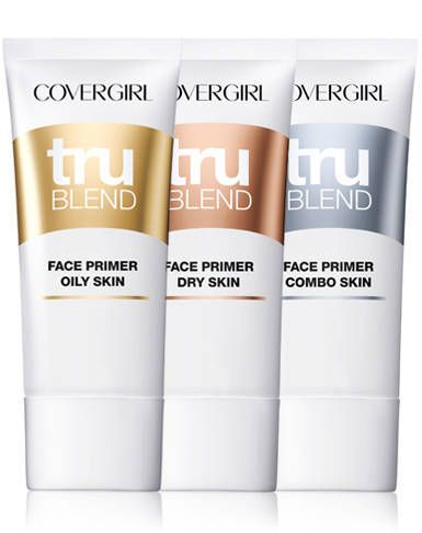 Covergirl Trublend Primer Is Designed For Your Unique Skin Type