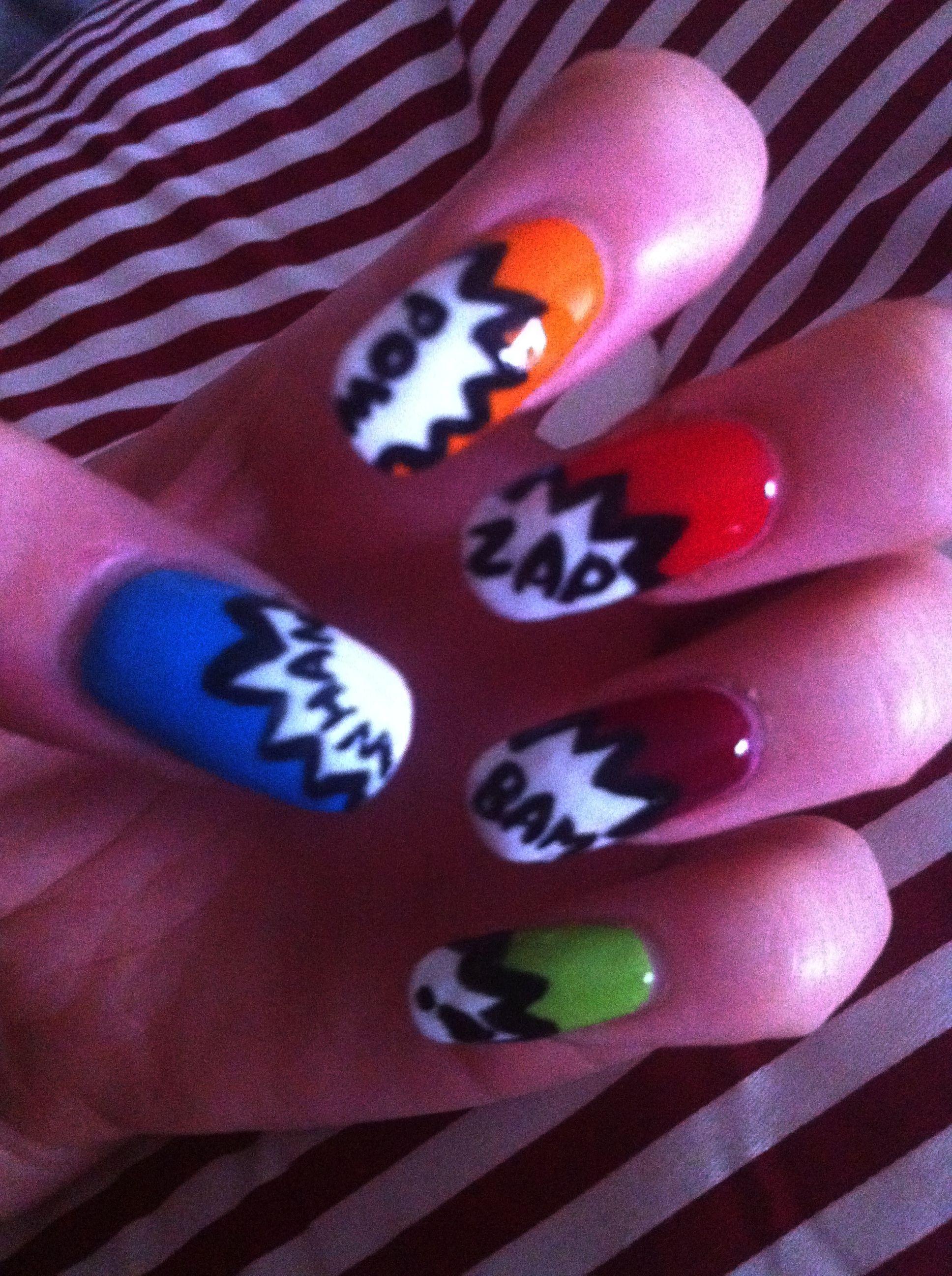 my funky nail art | Nails | Pinterest | Funky nail art, Pedicure ...