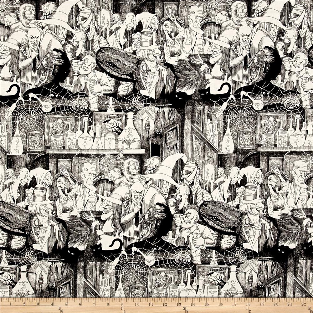 Baumwollstoff Alexander Henry  Nicoles print I Piraten