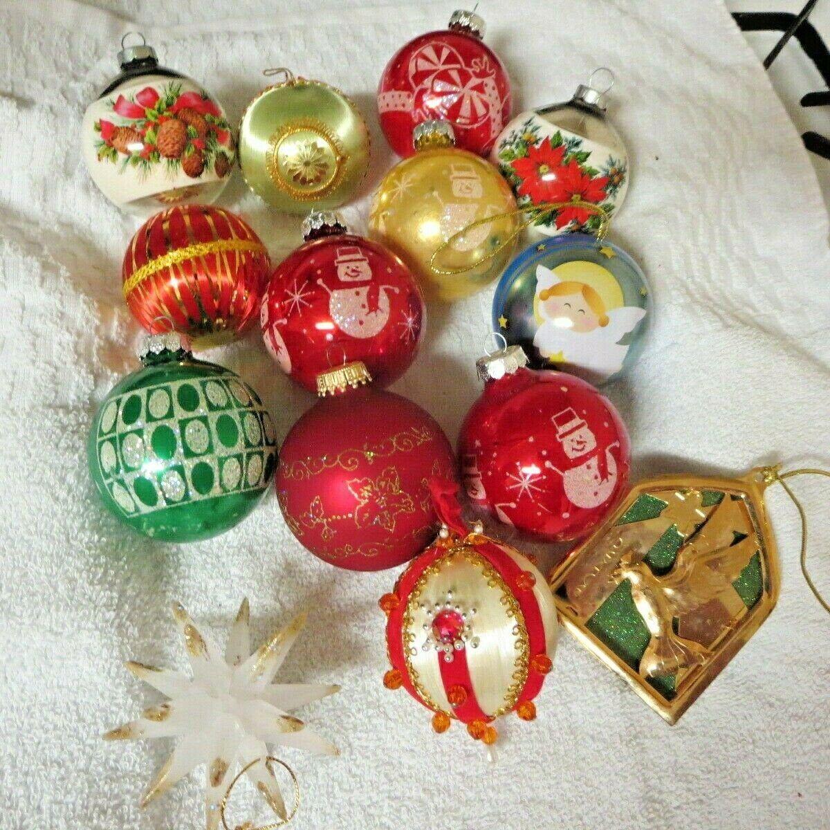 Vintage Christmas Ornament Lot Stenciled Rauch Peace Dove Etsy In 2020 Vintage Christmas Ornaments Hallmark Christmas Ornaments Christmas Ornaments