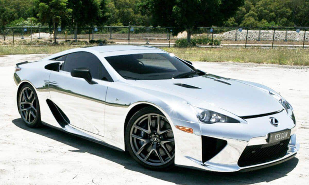 541 Chrome Lexus Lfa Miles On Sale For Over 1m In 2020 Lexus Super Sport Cars Lexus Lfa