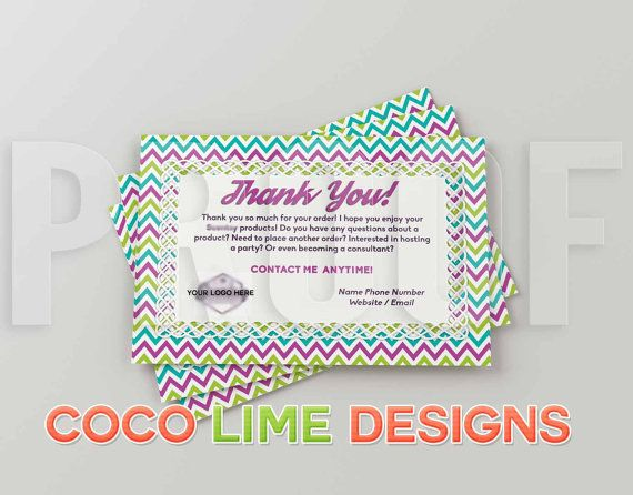 Thank You for your Order - Digital Download - Postcard Size - Direct Sales - Any Company - Scent Lady
