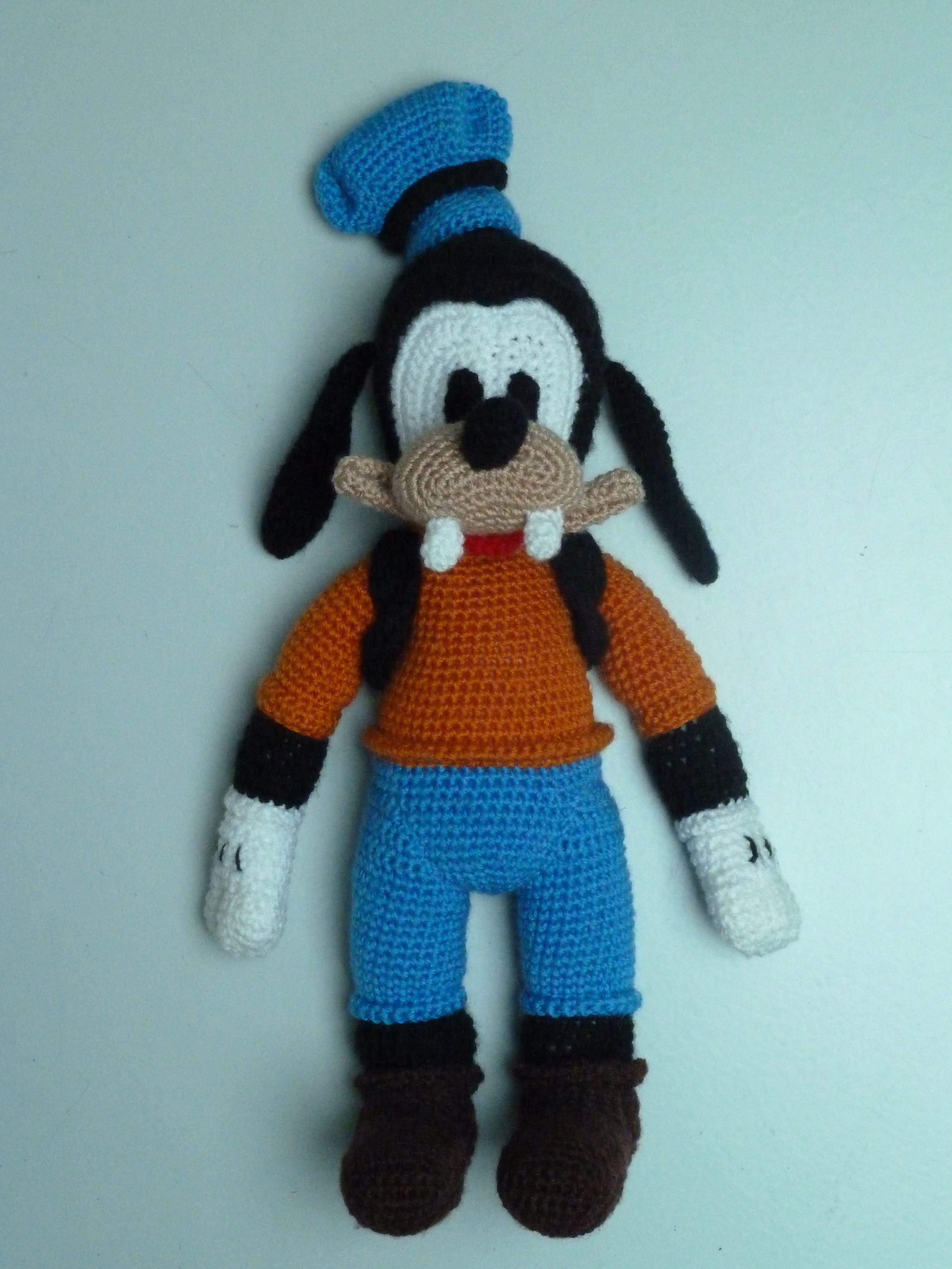 Amigurumi Goofy Handmade by Hilaria Fina | Haken - Disney ...