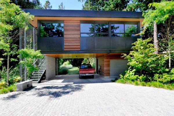 Houses Built Over Garages This Accessory Dwelling Unit