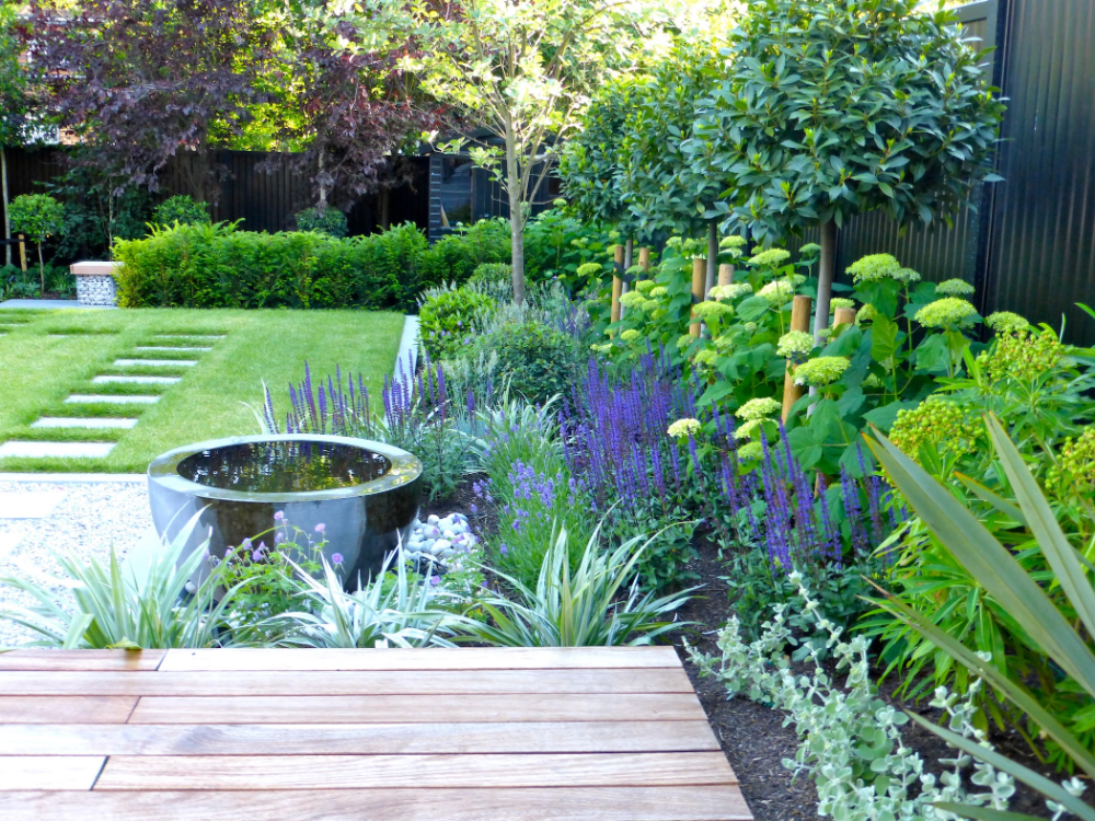 Hampstead Garden Design offer everything you might need when landscaping your garden; from layout an