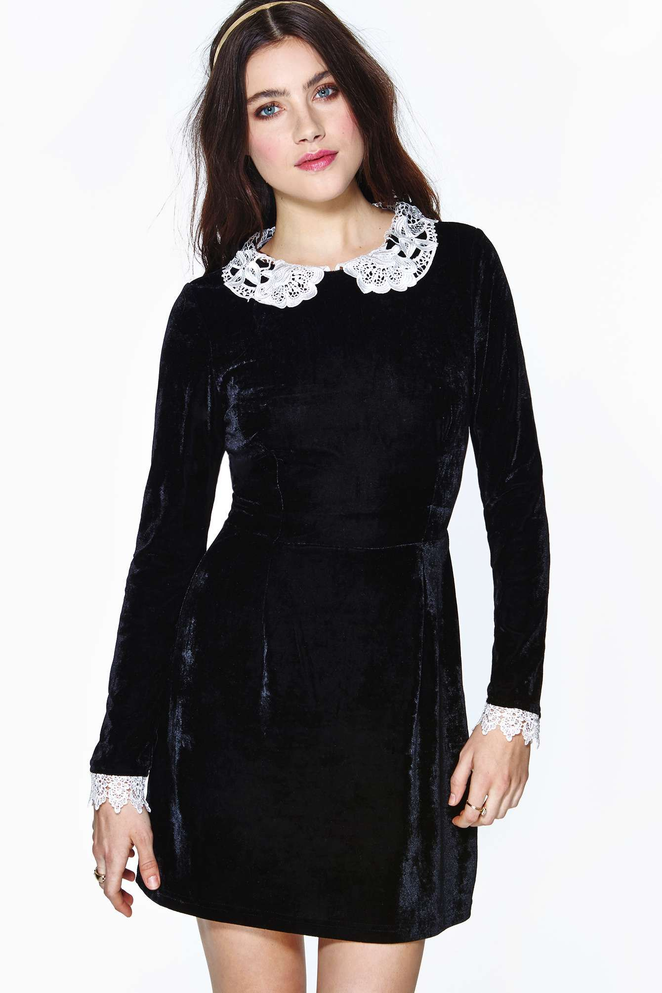 http://www.nastygal.com/clothes/wednesday-velvet-lace-dress
