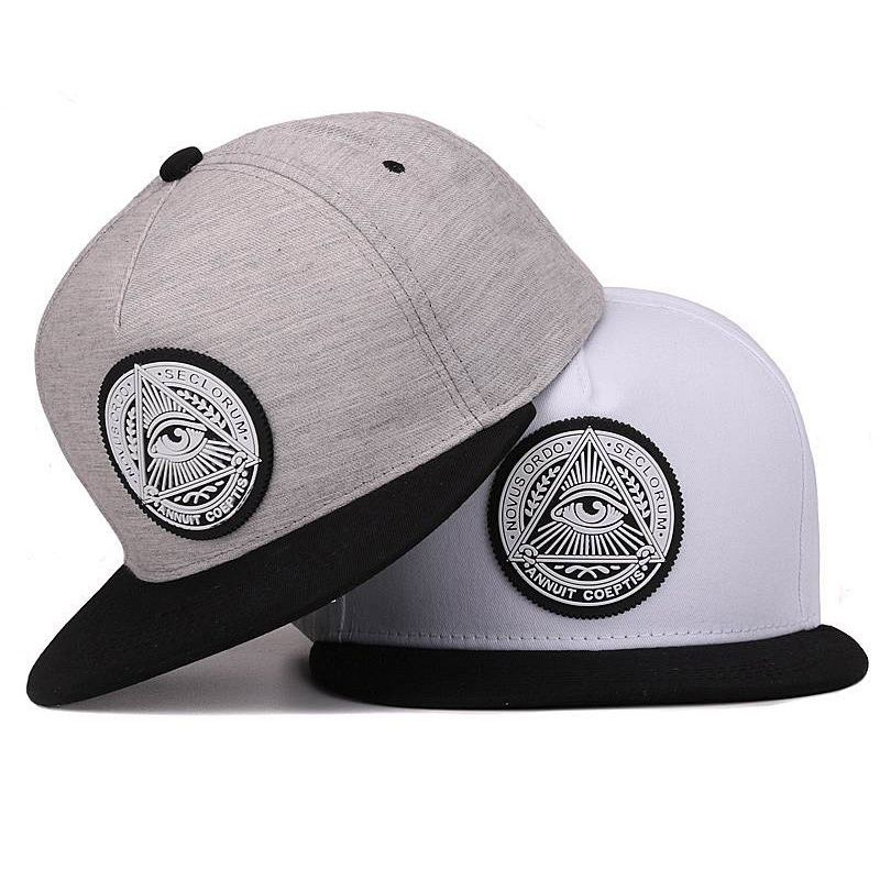 Stylish Cotton Snapback Cap with Pyramid Themed Pattern   Price   15.66    FREE Shipping     hashtag4 d41a90b938e9
