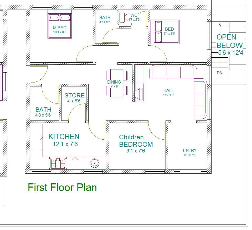 House Plan Floor Plan Homes At Near Inside Decent East Facing House Plan Ideas Vastu House 30x40 House Plans House Plans